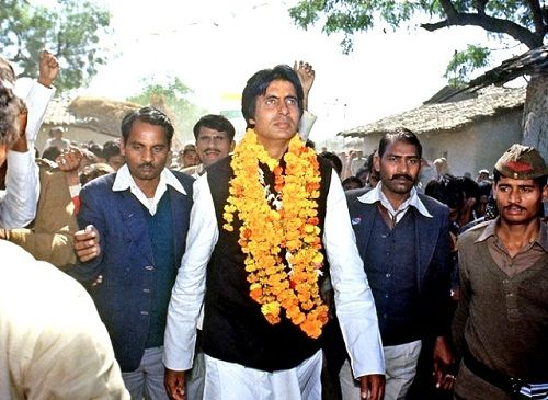 Image result for amitabh in politics pic