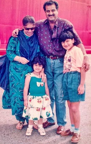 Image result for arjun kapoor childhood pics""