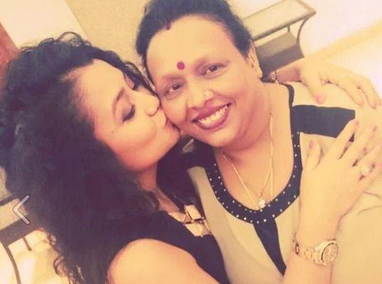 Neha Kakkar with her mother, Niti Kakkar