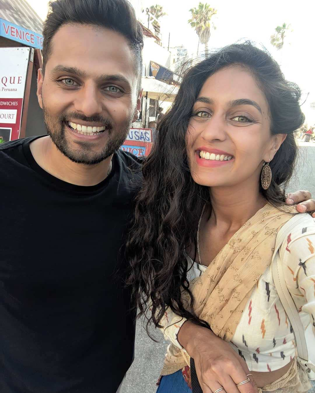 Jay Shetty with desirable, Wife Radhi Devlukia-Shetty