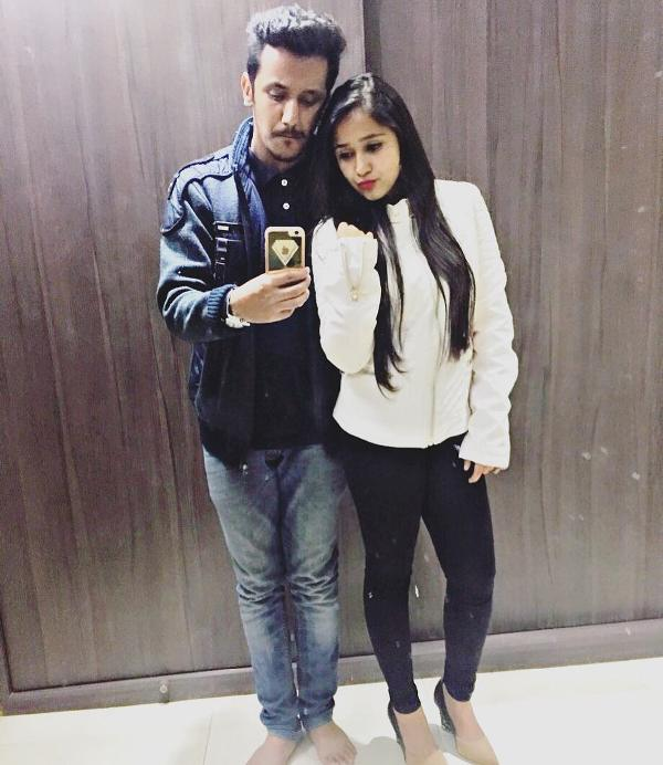Zahara Sethjiwala with her brother
