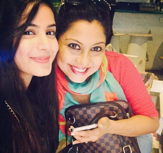 actress Nikki Sharma and Maninee Mishra