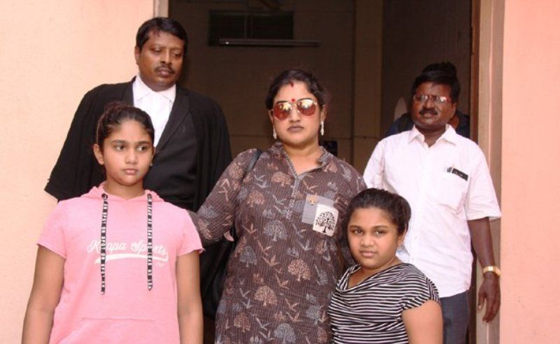 Image result for vanitha vijayakumar son